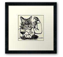 Cheese Thief Framed Print