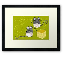Quesito - Cheese Lovers Framed Print
