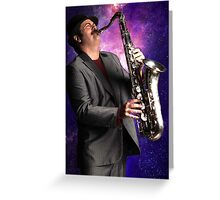 Duke Silver; Out of This World Greeting Card