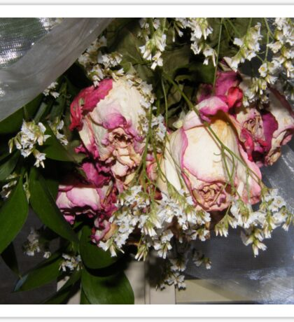 Dried roses to remember the special memories in your life..... Sticker