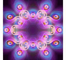 Abstract Mandala Photographic Print