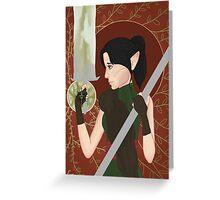 Inquisitor Lavellan Greeting Card