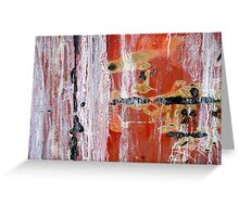 Abstract Painting Untitled #45 Greeting Card