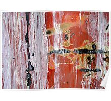 Abstract Painting Untitled #45 Poster