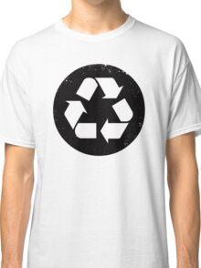 Recycle (black) Classic T-Shirt