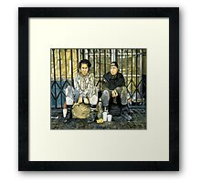 Angels of Market Street Framed Print
