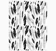 graphic pattern feathers Classic T-Shirt