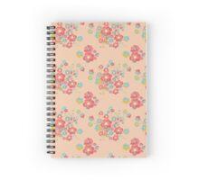 Painterly Flowers Spiral Notebook