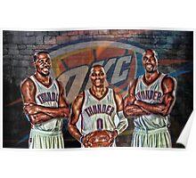 OKC Thunder Poster