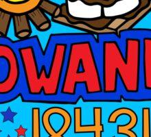 Towanda Sticker