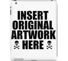 Original - ONE:Print iPad Case/Skin