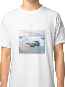 Car and the waves Classic T-Shirt