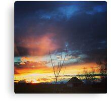The Chico Sky Canvas Print