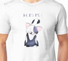 Hi, It's Me! - Black and White Kitten Unisex T-Shirt