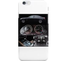 BMW 750 collage style iPhone Case/Skin
