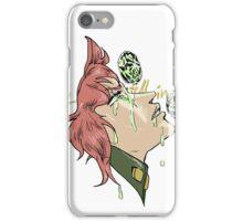 If Emeralds Fell in the Desert - Kakyoin (Color) iPhone Case/Skin