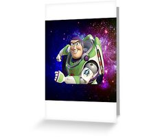 Buzz Dimensions Greeting Card
