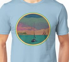 Cartoon-Sunset-Irish Tricolour Unisex T-Shirt