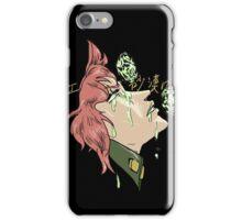 If Emeralds Fell in the Desert - Kakyoin (Japanese) iPhone Case/Skin