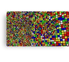 Cubo di Rubik Canvas Print