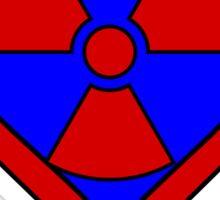 Hero, Heroine, Superhero, Super Radioactive Sticker