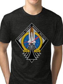 STS-135 Final Shuttle Mission Patch Tri-blend T-Shirt