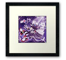 Kaito Shadow falling Framed Print