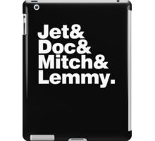 Journey Into Space: Experimental Jetset style iPad Case/Skin