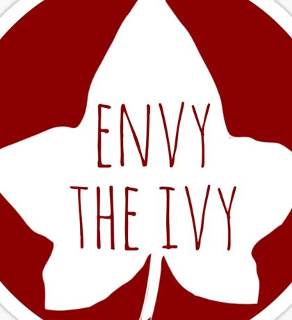 Envy the Ivy Sticker