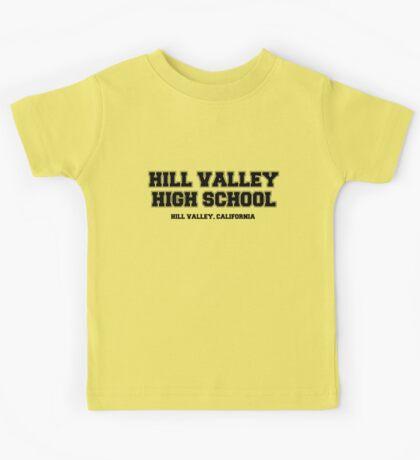 Hill Valley High School Kids Tee