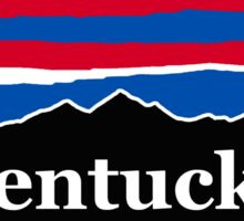 Kentucky Red White and Blue Sticker