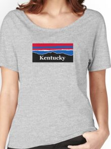 Kentucky Red White and Blue Women's Relaxed Fit T-Shirt