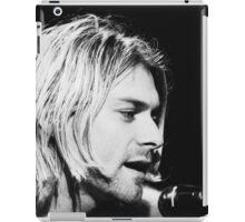 Kurt Cobain Singing iPad Case/Skin