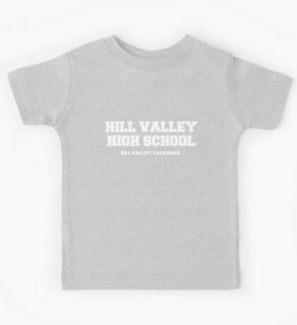 Hill Valley High School Kids Tee