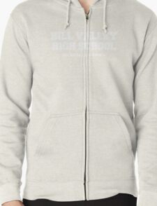 Hill Valley High School Zipped Hoodie
