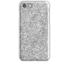 Cross Hatch Pattern iPhone Case/Skin