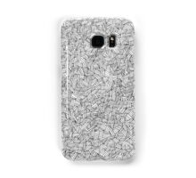 Cross Hatch Pattern Samsung Galaxy Case/Skin