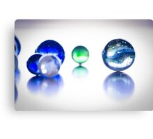 The World of Marbles Canvas Print