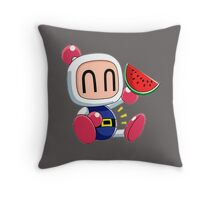 bomberman Throw Pillow