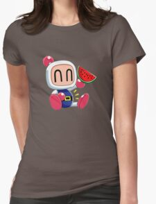 bomberman Womens Fitted T-Shirt