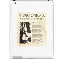 Annie Oakley iPad Case/Skin