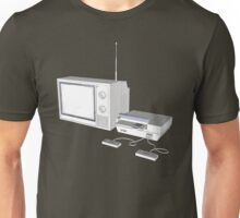 NES and TV Unisex T-Shirt