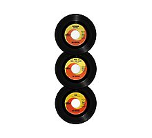 45 Spin-Fab Four Photographic Print