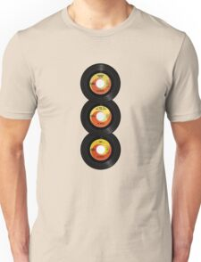 45 Spin-Fab Four Unisex T-Shirt