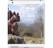 Squirrel Sculpture iPad Case/Skin