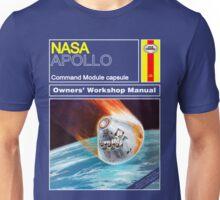 Owners Workshop Manual - NASA Apollo Unisex T-Shirt