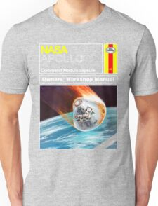 Owners Workshop Manual - NASA Apollo Unisex T-Shirt