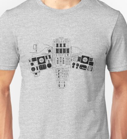 Apollo Control Panel Unisex T-Shirt