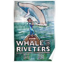 NWHL - Whale vs. Riveters Poster