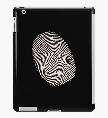Finger print - touch finger  iPad Case/Skin